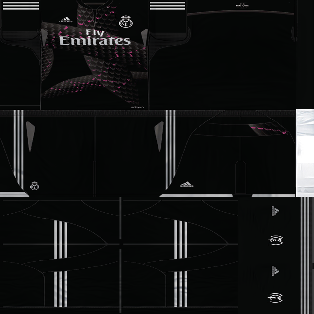 Ultigamerz Real Madrid Fantasy Kit 2014 15 Pes 6
