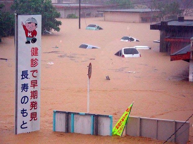 Japan rain forces about 1 million people to leave their homes