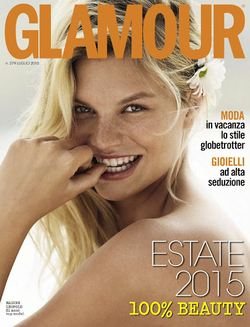 Model @ Nadine Leopold - Glamour Italy, July 2015