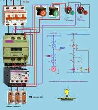 Arranque motor trifasico con pulsadores