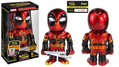 "San Diego Comic-Con 2015 Exclusive Marvel ""Cosmic Powers"" Deadpool Hikari Sofubi Vinyl Figure by Funko"
