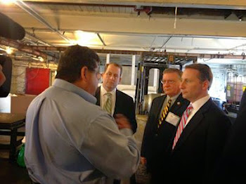 Matt Doheny With Rob Astorino the Day Before in Watertown
