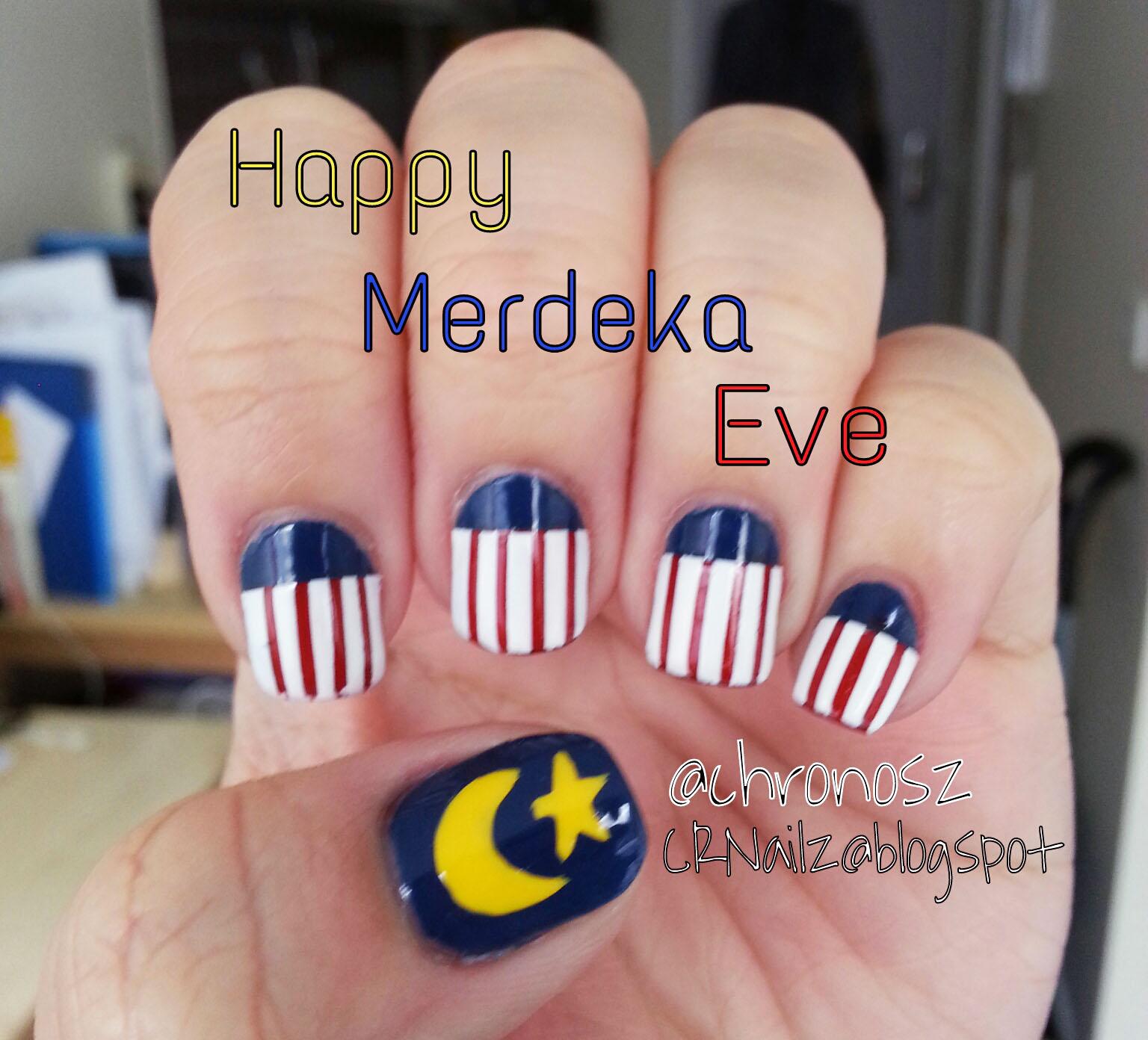 CRNailz: Selamat Hari Merdeka!