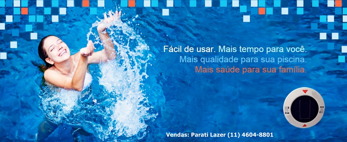 Parati lazer ionizador solar parati lazer 11 4604 8801 for Ionizador piscina