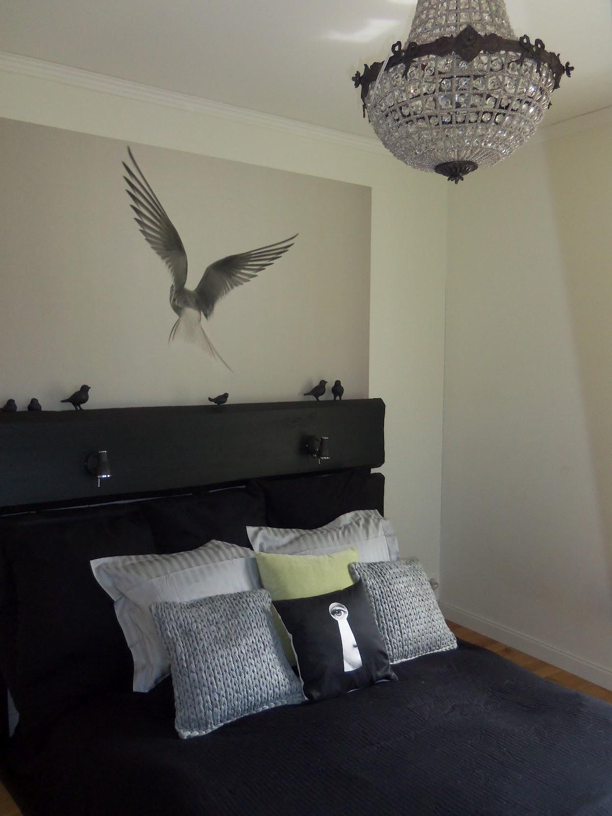 Residence Design Egen sänggavel med nya kuddar