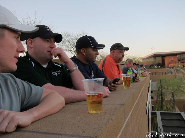 what to do at a spring training baseball game