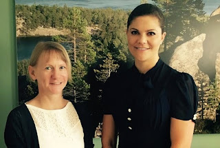 Crown Princess Victoria Visits Brussels