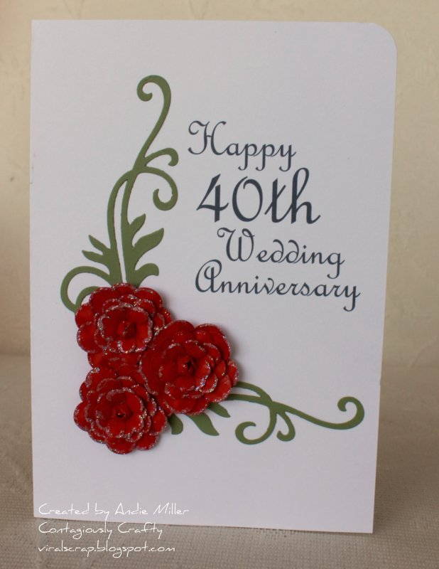 happy 40th anniversary cards