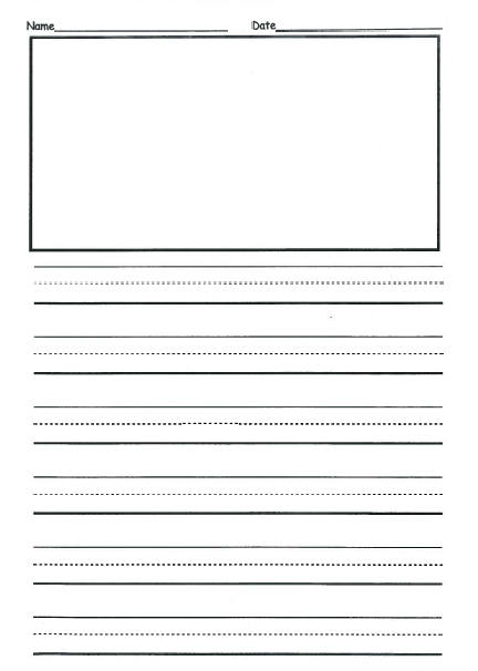 2nd grade writing paper new calendar template site for Writing templates for 3rd grade