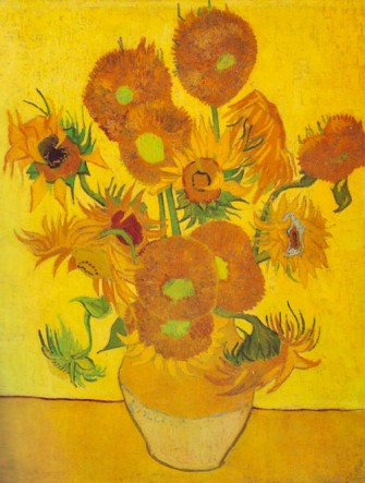 Jarrón con 14 girasoles- Vincent Van Gogh