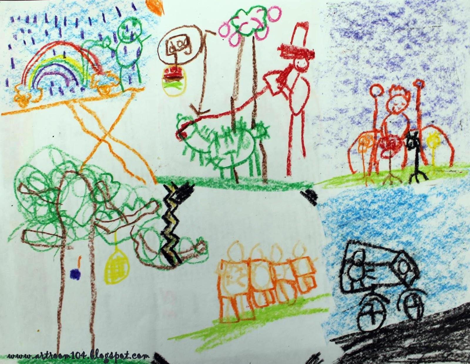Art Room 104: 1st Grade Post-Assessment Results