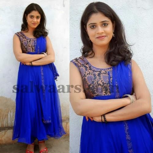 Samatha Blue Salwar Kameez