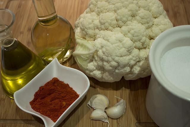 ingredientes coliflor ajoarriero