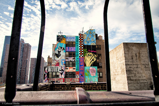 Street Art By Faile On The Streets Of New York City, USA 2