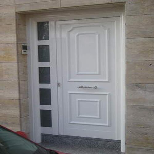Puertas de entrada carpinteria lozano hierro y aluminio for Puertas exterior aluminio baratas