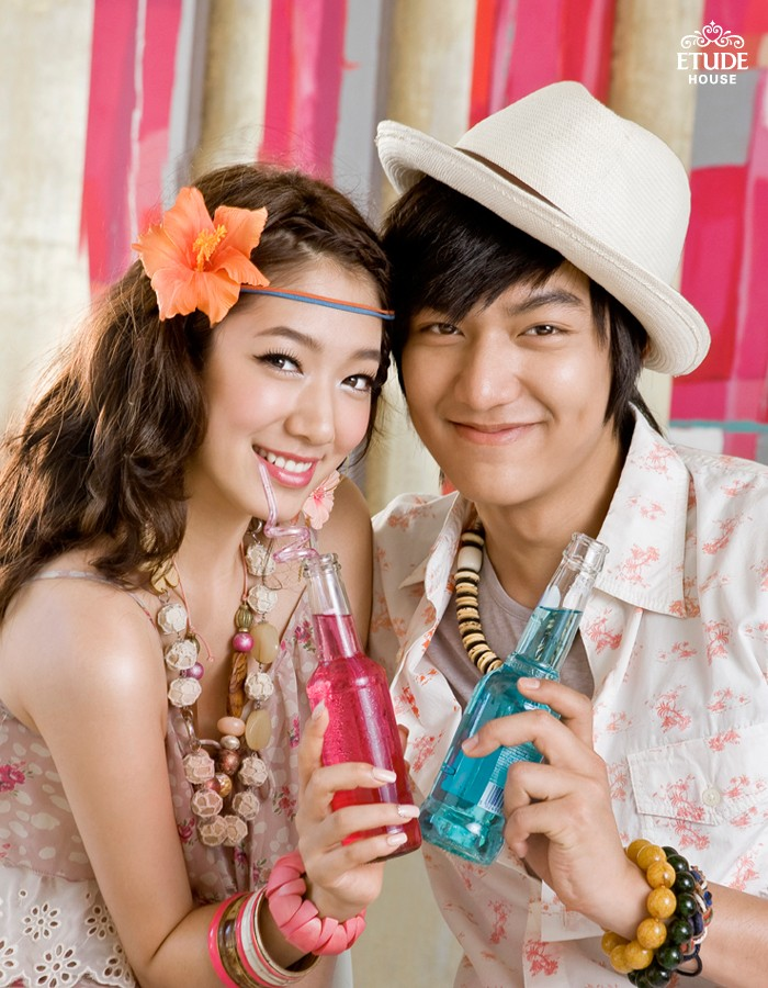 چرت و پ... Lee Min Hoo And Park Shin Hye
