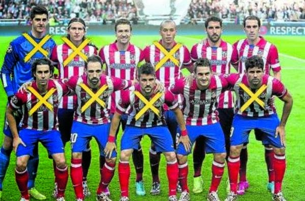 ATLETICO DE MADRID 2014