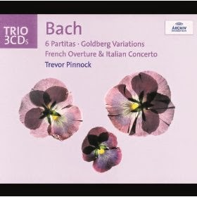 Johann Sebastian Bach (1685-1770) - 6 Partitas, Goldberg Variations, French Overture & Italian Overture