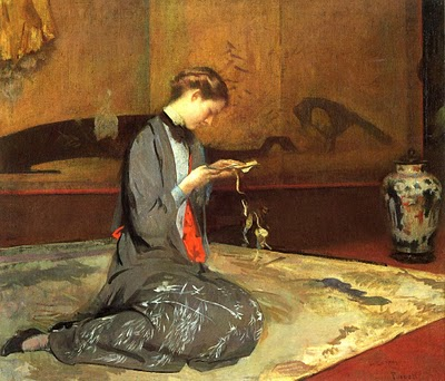 japonisme tarbell painting