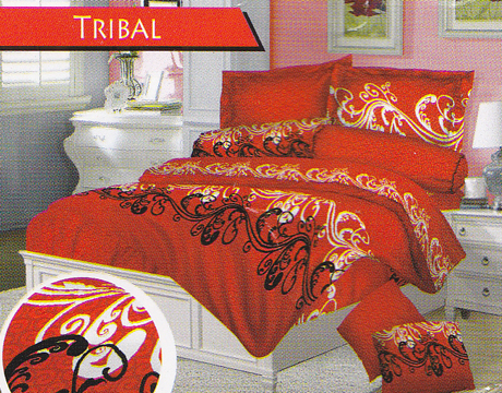 Sprei Love Story Tribal