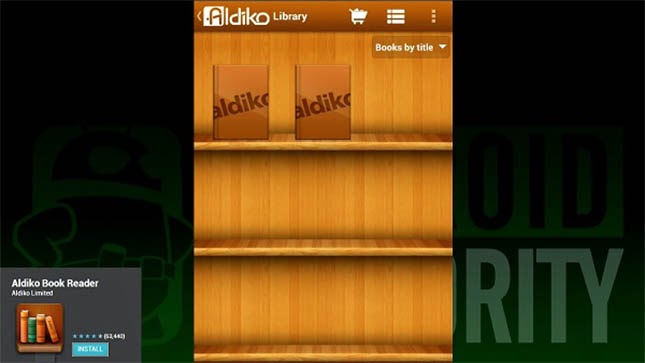 Aldiko Book Reader-eBook Reader for Android