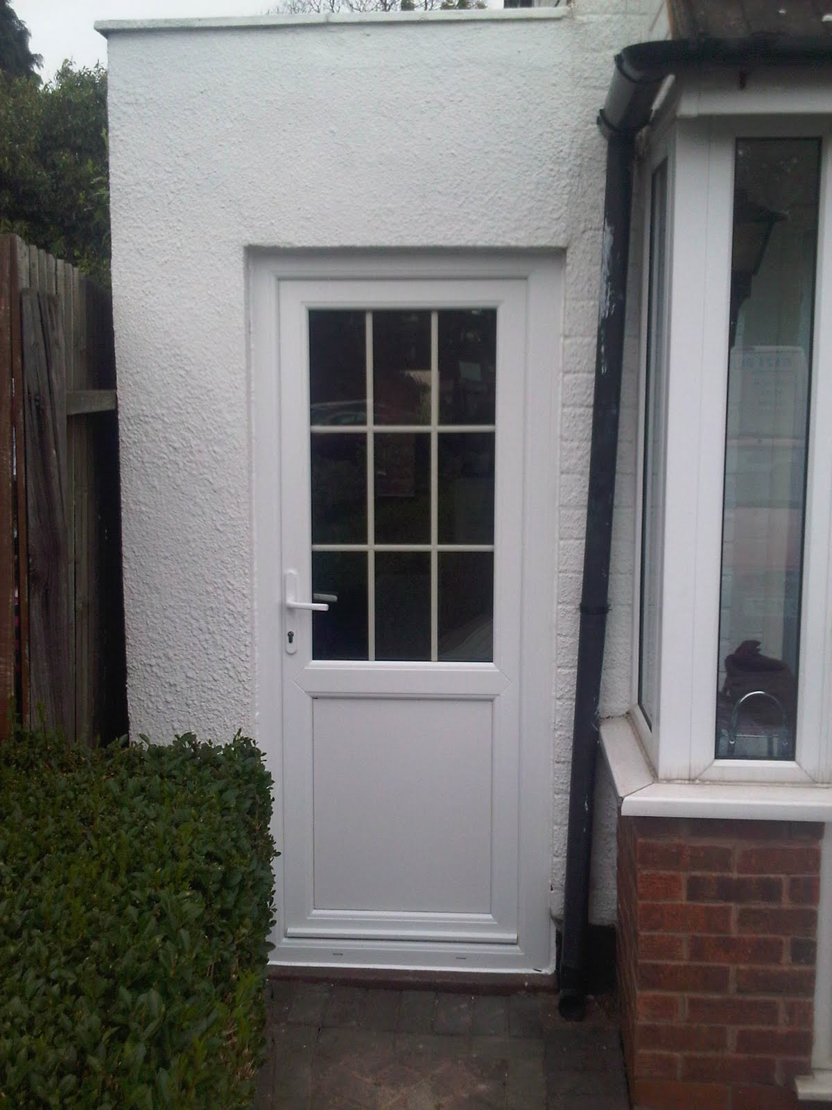 one back chester frosted doors panel frame galzed glazed upvc door with