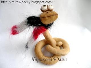 мастер-класс, Новогодние идеи, куклы, текстильная, шитье, змея 2013,