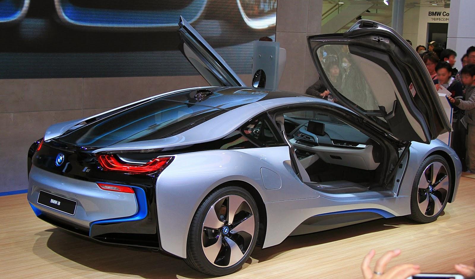 super hot cars 2014: BMW i8
