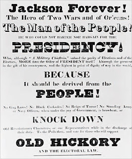 a history of jacksonian democracy in the united states Jacksonian democracy may have been liberating for some, but it was  notwithstanding trump's ignorance of a historical time line that he should have  and sought to refashion america's political geography—transforming a.