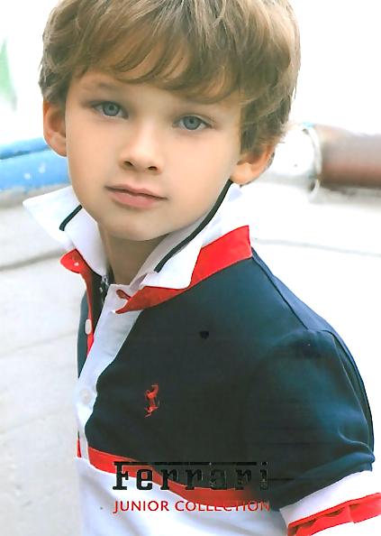 Child Modeling Boys Credited