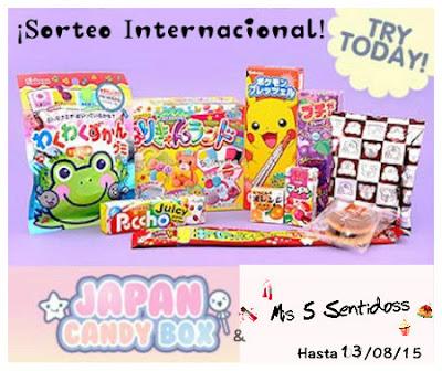 sorteo japan candy box