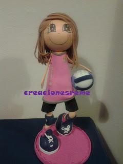 fofucha-creacionesreme-personalizadas-foami-voleibol