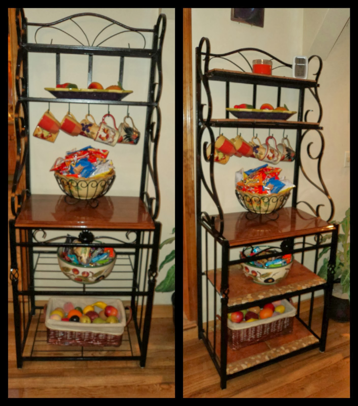 elegant charming century used french bakers sale size original hand wall medium of with cabinet racks vintage rack second kitchen for