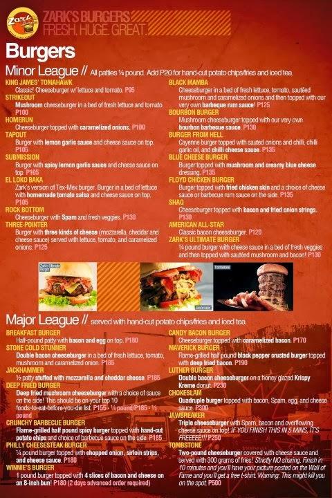 Zarks-Burgers-Menu
