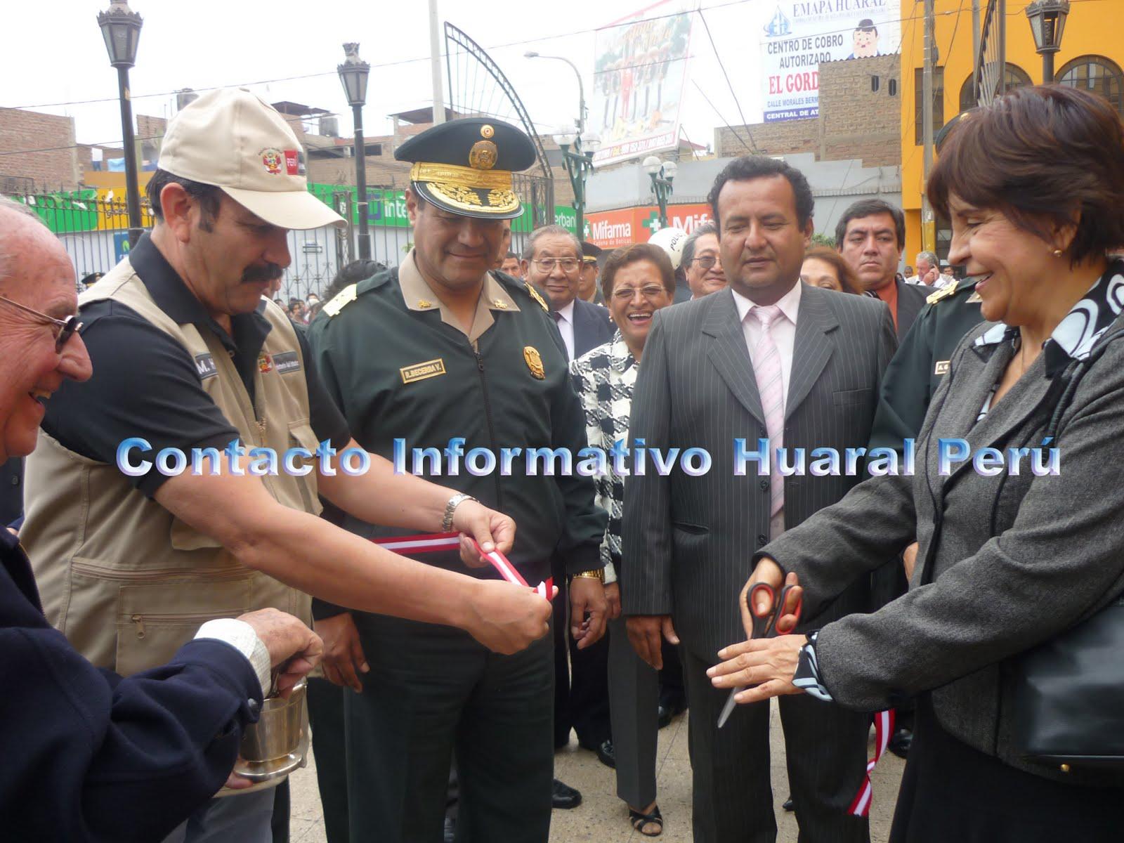 Contacto informativo huaral per ministro del interior for Ministerio del interior comisarias