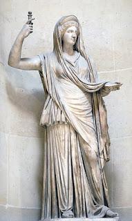 Greek Goddess Hera.