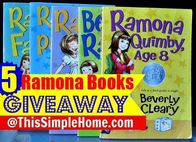 Ramona book covers