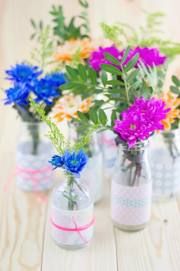 DIY Blumenvasen - Upcycling statt Wegschmeissen!