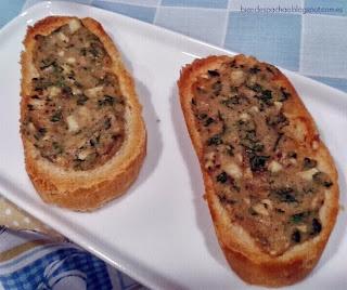 tostadas de brie