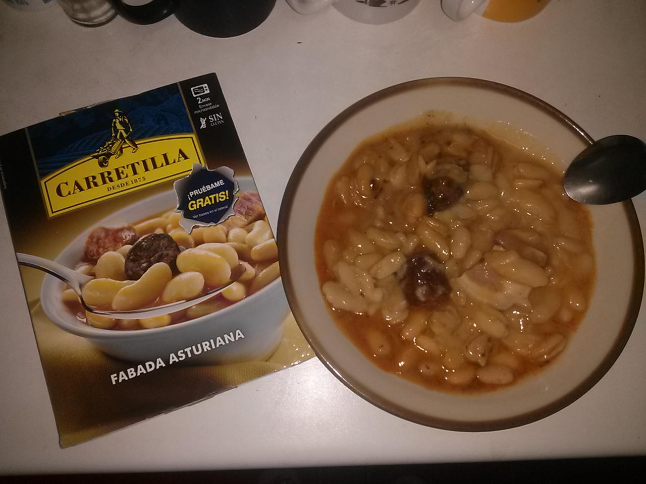 Fabada asturiana carretilla for Como cocinar fabada asturiana