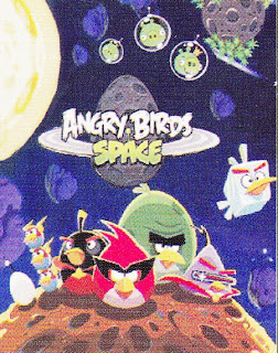 Selimut Cassamia Soft Panel Angry Birds Space