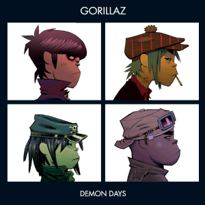 Gorillaz Demon Days - album art