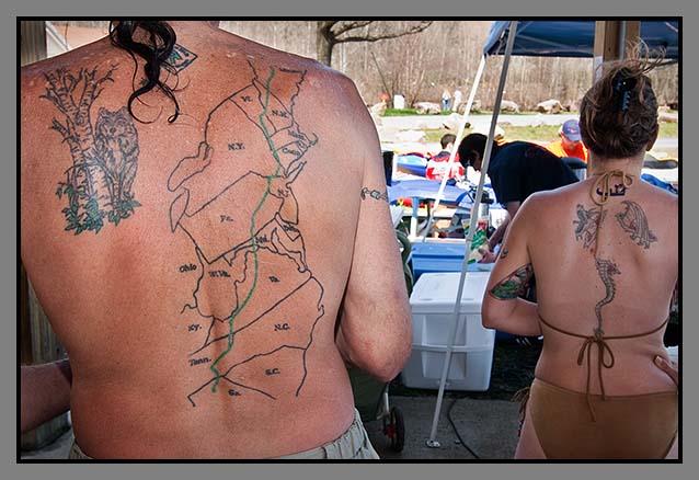 northbound an appalachian trail journey at tattoo design