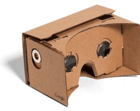 salah satu bentuk fisik dari Google Cardboard