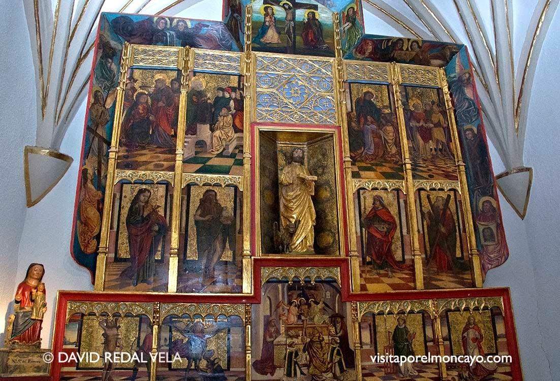Retablo San Marcos Basilica del Romero de Cascante