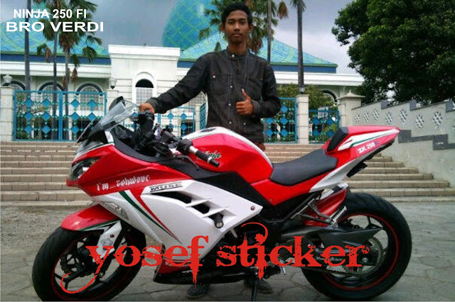 Ninja 250 Putih Cutting Sticker http://yosefcuttingsticker.blogspot.com/2012/12/cutting-sticker-ninja-250-fibro-ferdi.html