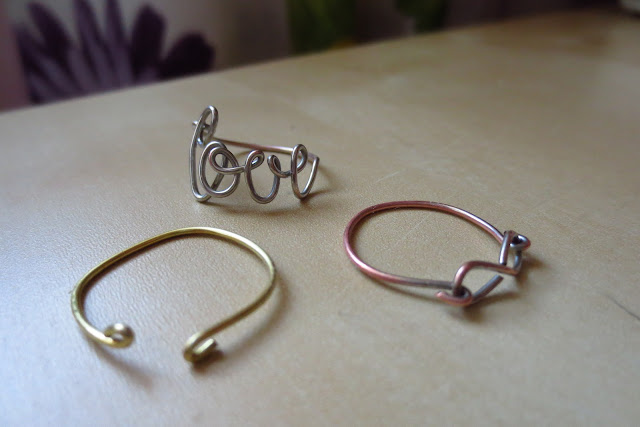 spring outfit inspiration diy wire rings