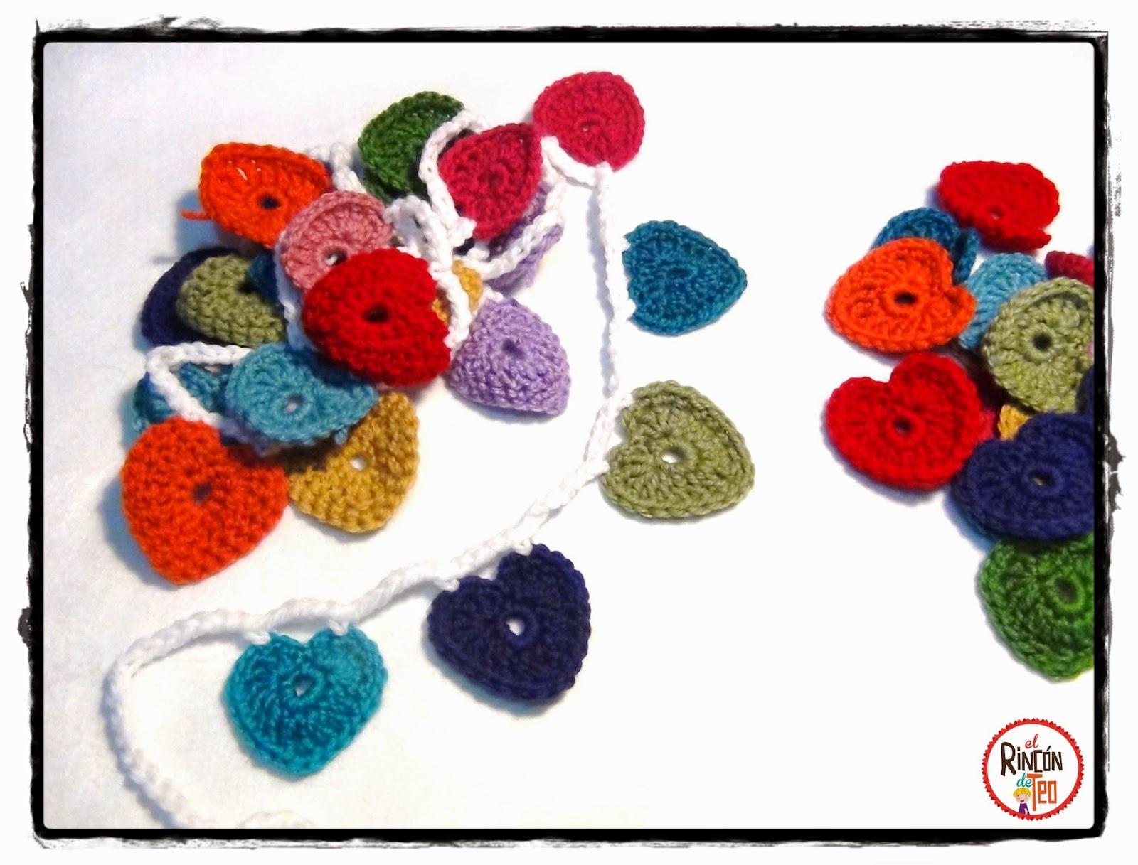 El Rincón de Teo: Crochet & Love! Rojo fuejo pasión! Tejes conmigo?