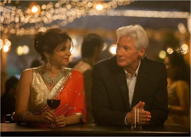 Richard Gere et Lillete Dubey dans Indian Palace, Suite Royale, de John Madden