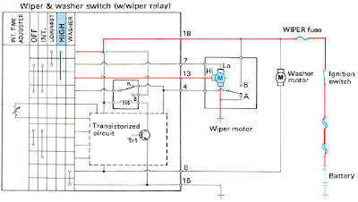 Wiring Diagram Cara Kerja Wiper High Speed
